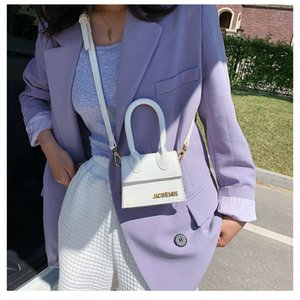Jacquemus Mini e bolsas bolsas para Mulheres 2020 Crossbody Bag famosa marca os do desenhista de luxo sacos de mão de crocodilo padrão C1009