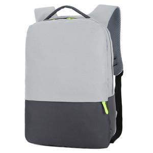 Мужская Рюкзак USB Водонепроницаемый Суперлегкость зарядки ноутбуков Рюкзаки Unisex Casual Nylon Бизнес 15.6 дюймов Компьютер Путешествия мешки