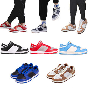Chino Año Nuevo Curry Medium Dunks SB Low Pro Chunky Dunky Hyper Cobalt Hombres Zapatos de correr Strangelove Staple x Panda Pigeon Sneakers
