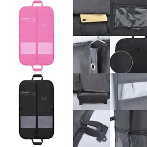 2020 мужской путешествия бизнес сумка костюма платье одежда сумка с ясным окном карманный карман длинные швейные крышки одежды # 919381
