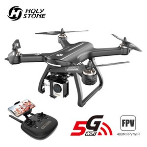 Holy Stone HS700 GPS Drone 5G with Camera Full HD 1080P Drone GPS Brushless 1km 1000M FPV Profesional Com Camera Wifi Quadcopter 201015
