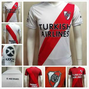 Jogador Versão 2020 2021 River Placa Futebol Jerseys River Plate G.Martinez Quintero Pratto Borre 20 21 Jerseys de futebol fluvial