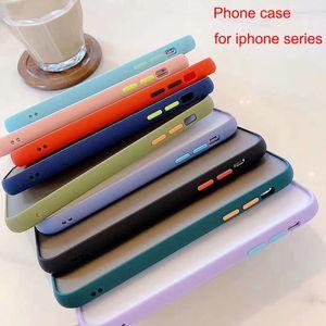 Coque de téléphone de la caméra Colicole Matte Case antichoc TPU Protéger les accessoires de téléphone portable pour iPhone 11 / iPhone 11 Pro / iPhone11 Pro Max cas