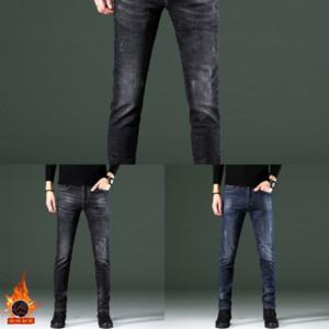 ZWN Slim Jeans für Denim Outdoor Jeans Fit Pants Klassische Jeans Skinny Mens Hohe Qualität Designer Hosen Lässig männlich gerade
