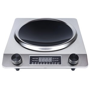 Household and commercial induction cooker black crystal panel high temperature resistant explosion-proof waterproof body