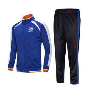 20 21 Iceland Football Club Adults Kids Soccer Jersey Winter Sets Custom Sports Uniforms Soccer Tracksuits