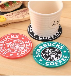New Silicone Coasters Cup Thermo Cushion Holder Starbucks Sea -Maid Coffee Coasters Cup Mat