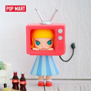 Molly Serisi sanat oyuncaklar rakam Rastgele kutu hediye Kör kutusu Eylem Şekil Doğum Hediye Kid Oyuncak ücretsiz gönderim 1008 POP MART Bir Gün