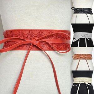Lace della novità Cintola Donne Vintage cinghie larghe della cinghia elastica del corsetto nero Femmina Cincher del cinturino per Lady Accessori Dress