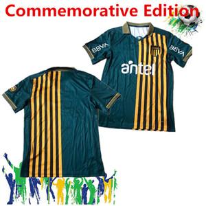 Club Atletico maillots de football Penarol 2020 rétro en 2021 Uruguay Lucas Viatri version spéciale maillots de football commémorative Edition Vintage
