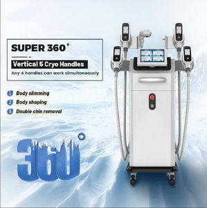 2020 Dernier congélateur de graisse Cryolipolyse RF avec poignée de 360 mini congélateur