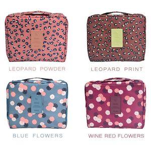 Multi-function Waterproof Cosmetic Makeup Bag With Handle Comfortable Inner Pocket Storage Bag Travel Toiletry Bag FWF2723
