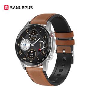 2020 Bluetooth appelle Smart Watch Sport Band pour homme IP68 imperméable Smartwatch Smartwatch Oxygen Tracker pour Android Apple Xiaomi LG Moteur
