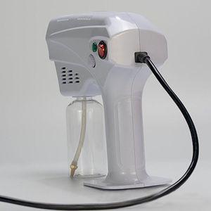 Handheld Electric Nano Spray Gun Blue Ray Anion Atomización Desinfección Rociador Big Power Herramientas de limpieza para el hogar CCA3101