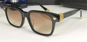 Новые популярные моды ретро мужские солнцезащитные очки, SHAGSS квадратная рамка простой и щедрый дизайн UV400 защитные очки высшего качества