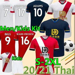 SANTST 2020 2021 DANNY HANS Soccer Jersey Ward-PROVE 20 21 Camicia da calcio Hojbjerg Long Adams Uomo Camicia per bambini Camicia per bambini Redmond Jersey Uniformi
