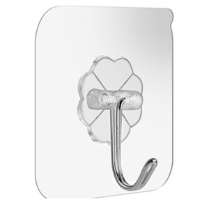 Transparent Strong Suction Hooks For Home Kitchen And Bathroom Cup Sucker Hanger Key Holder Storage bbyGjz
