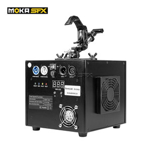 4pcs lot Cold Sparklers Stage Effect Waterfall Fireworks Machine with 4 IN 1 Flight Case 650W DMX Flameless Sparklers Spray 5M for Wedding