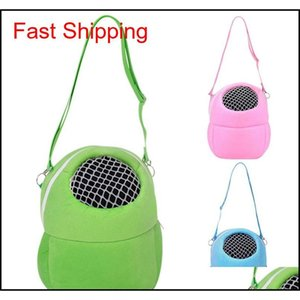 Hot Rat Hamster Hedgehog Carrier Cages Warm Hanging Bag Small Pet Supply Free Shipping New Hot Sell 2019 Wholesale qylcpK yh_pack