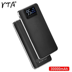 2020 NEW Power Bank 30000mAh For Xiaomi Mi lLED 2 USB PowerBank Portable Charger External Battery Poverbank For iPhone 7 6 5 4 X