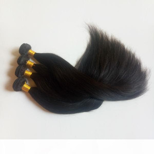 Black woman Brazilian Virgin human Hair Unprocessed best quality Natural Color and Black #1 #1b beauty Indian remy Hair Extensions DHgate
