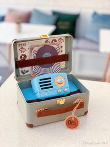 New Maoking Little Prince OTR Ness Blue Retro speaker MW-2 FM Radio gradient Metal Bluetooth Wireless portable outdoort Player