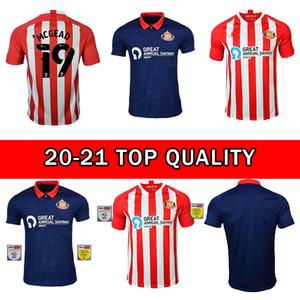 새로운 2020 2021 Sunderland 축구 유니폼 McGeady Maguire Power Watmore 20 21 축구 셔츠