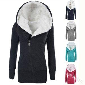 Kadınlar Parkas Kış Coat Yeni Kadın Kalın Uzun Kapşonlu Sıcak Coats Ceketler Plus Size 4XL CO02 201029