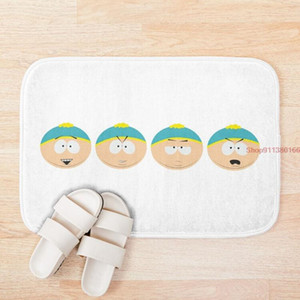 Mat Eric Cartman Moods Anti-slip Absorb water Bath mat Bathroom kitchen bedroon floor Entrance Rugs kids prayer