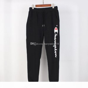 Mens Designer Track PantS Casual Champion Mens Joggers Pants TrackPants Hot Sell Cargo Pant Male Trousers Elastic Waist Men Sweatpants