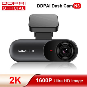 DDPAI DASH CAM MOLA N3 CAR DVR 1600P HD GPS-Транспортный автомобиль Авто Видео DVR 2K Android WiFi Smart Connect Car Camera Recorder 24H Парковка
