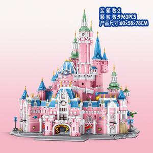 613003 الخالق سيتي سلسلة قلعة رومانسية حلم القلعة اللبنات اللعب 9963pcs الطوب