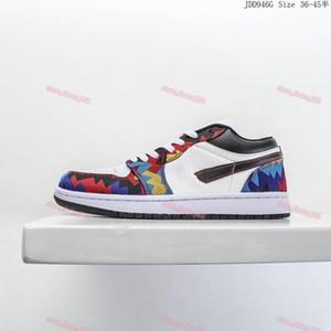 wholesale Low 1 1s Jumpman basketball shoes fashion emerald toe hyper royal high quality Travis Scotts court purple men women stylist Sneake