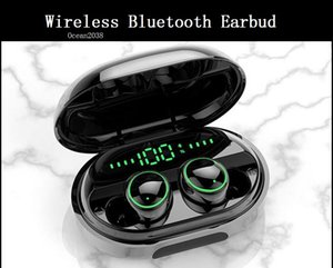 Wireless Bluetooth Earphone HD Stereo Headset IPX8 Sport Headphones Earbuds 3500mAh Charge Box For Smart Phones