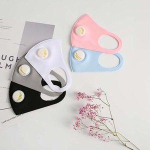 Beautifully packaged unisex breathing valve dust-proof protective mask washable reusable ice silk cotton fashion mask