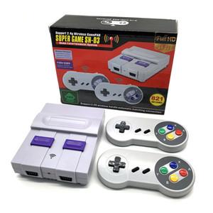 Wireless Console HD TV console di gioco SNES821 partita in casa SFC alta definizione FC Rosso e bianco macchina nostalgico retrò