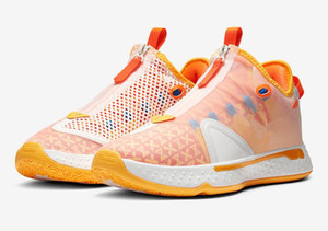 PG 4 IV PG 4 Orange GX Mens Basketball Shoes PG4 green White Sports Sneakers With box Store Free Shipping Size 40-46