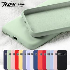 Original Liquid Silicone Phone Case for Samsung Galaxy A10 A20 A30 A40 A50 A60 A70 A80 S9 S8 S10 Plus S10E S7 Edge A7 J4 J6