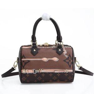 2020 High quality Designer Women Genuine Leather MessengerLVlouisvuittonShoulder Bag Handbag Presbyopic Package