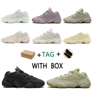 2020 kanye west yeezy boost 500 yezzy yeezys shoes chaussures yecheil scarpe shoes 3m white 500s black reflective mens women sneakers wave runner 500
