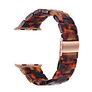 Apple Watch Resin Band 40mm 38mm 44mm 42mm, Stylish Replacement wristbands for iWatch Series 6 5 4 3 2 1 SE Women Men