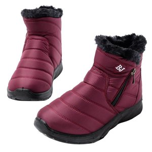 Women Winter Snow Boots New Fashion Style Shoes Casual Woman Platform Waterproof Warm Woman Female High Quality