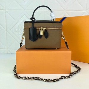 2021 new fashion luxury woman cosmetic bag fashion luxury and comfortable woman finishing bag, number M42264