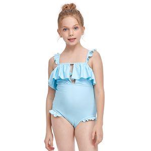douze 2021 vente chaude de maillots de bain pour enfants enfants mode plage équipement eau sport rose rayures rouges violet cou ues suit nager