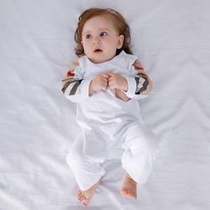 Высокое качество детской одежды с длинными рукавами хлопок Romper младенца Bodysuit одежда Детская одежда мультфильм девушка моды Комбинезон