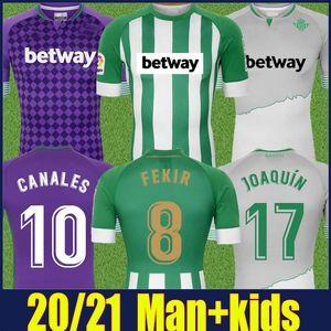 2020 Spagna Football Club verdoso maglia verde strisce bianche Maglia casalinga Uomi bambini kit Hulio Divisa viola Camiseta de Futbol 20/21
