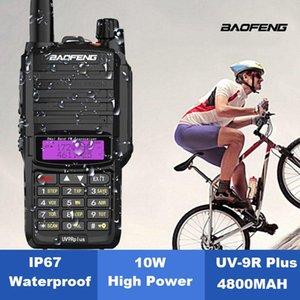 BF-UV9R Walkie Talkie 2-Way Dual Band 8W IP67 Waterproof 10KM radioamador Baofeng 100% Original