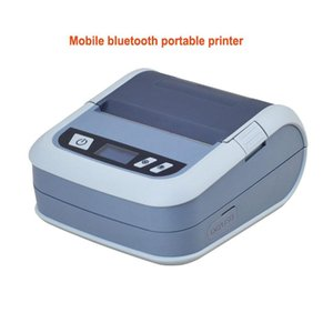 Mobile bluetooth portable printer for print thermal label and receipt suit paper width 20mm-80mm