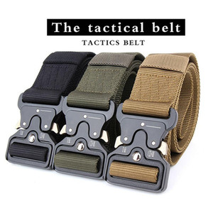 Outdoor Gadgets Arrival SWAT Equipment Army Belt Men's Heavy Duty US Soldier Combat Tactical Belts Sturdy 100% Nylon Waistband