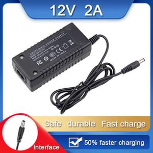 Nouveau Compatible 12V 2A 5.5mm * 2.5mm DC Commutateur de régulateur de tension Adaptateur pour BJF Tablet PC Chargeur